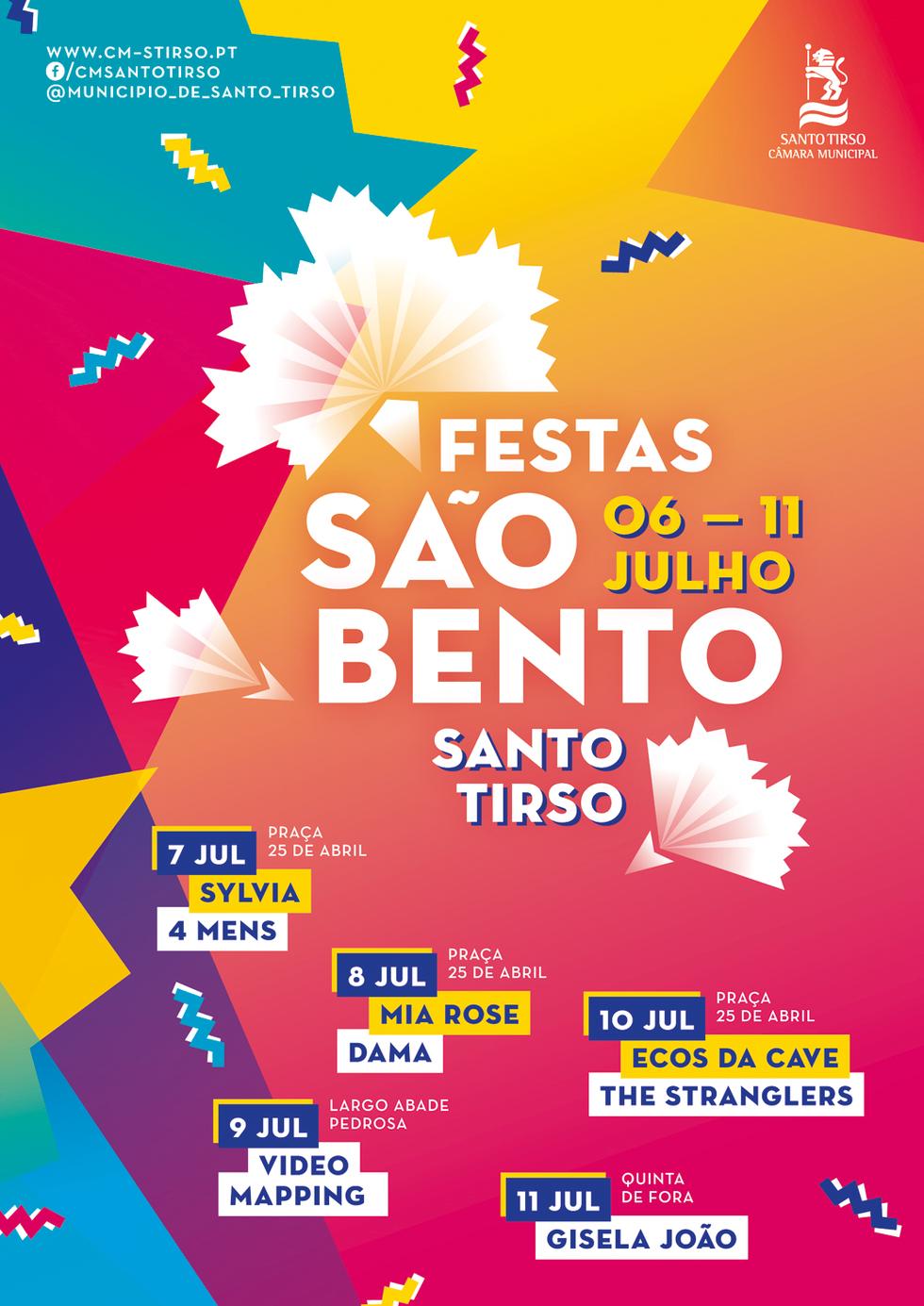 d360a93f6 Festas de São Bento 2017   C.M. Santo Tirso